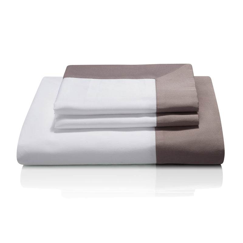 Cividale Luxury Bed Linen in Deep Blush (Cipolla) exclusive to Woods Fine Linens