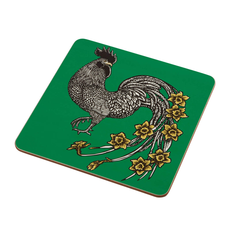 Animal Placemat and Coaster Collection Green Cockerill Design