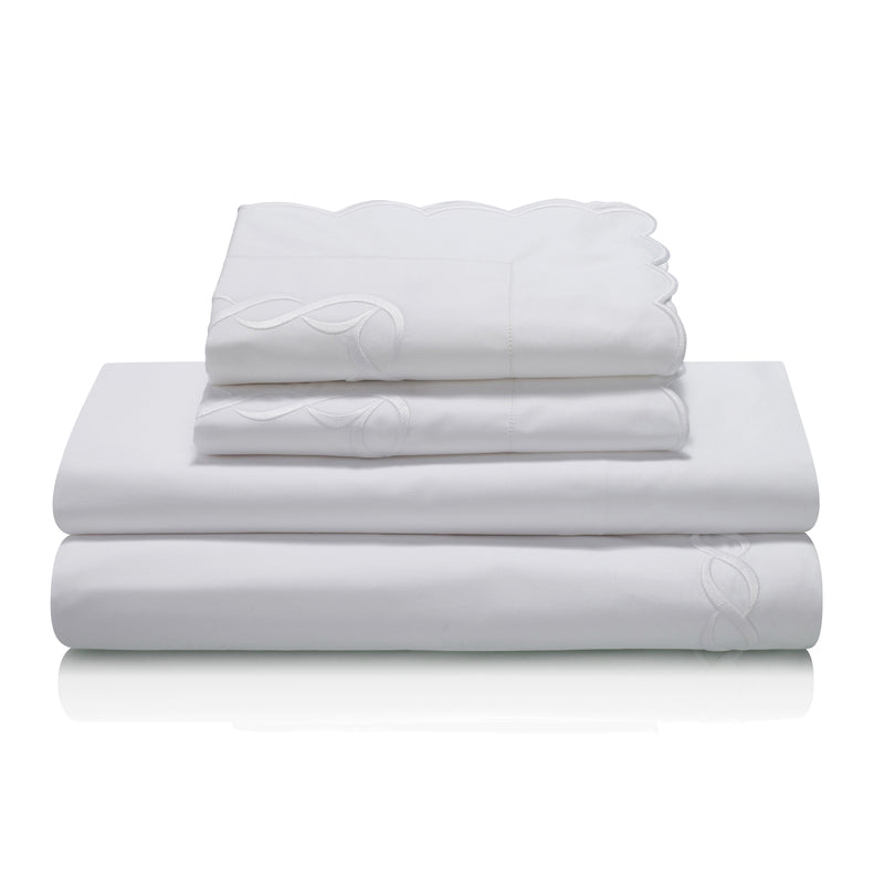 Pratesi Chain Design Egyptian Cotton Bedding Set
