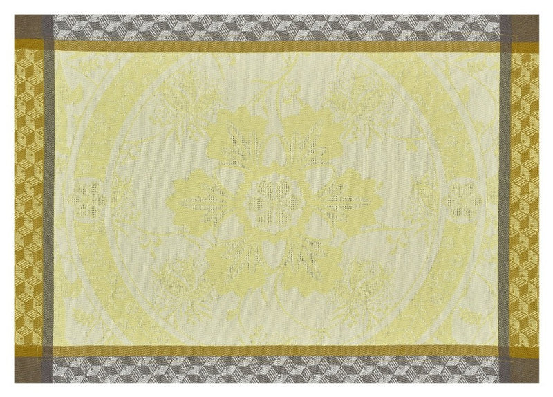 Duchesse Cotton Placemat Narcisse Yellow