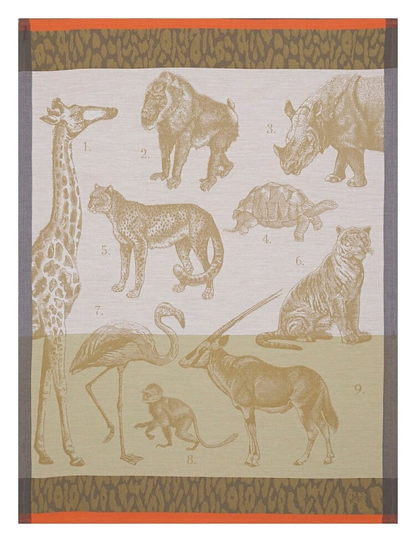 Safari Cotton Tea Towel