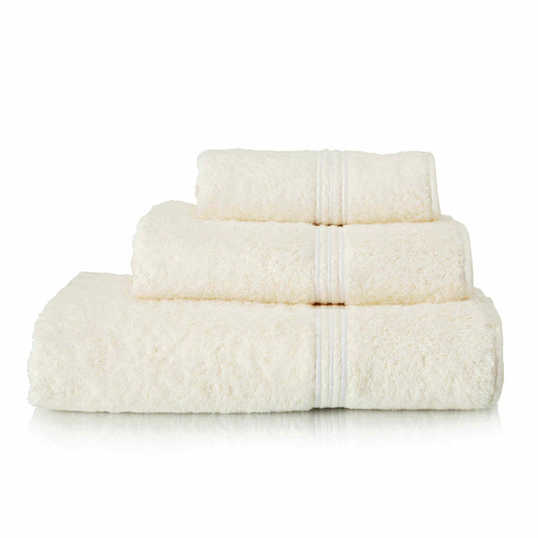 Frette Triplo Bourdon Cotton White Towel Collection
