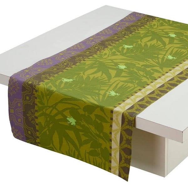 Bahia Jungle Cotton Table Runner