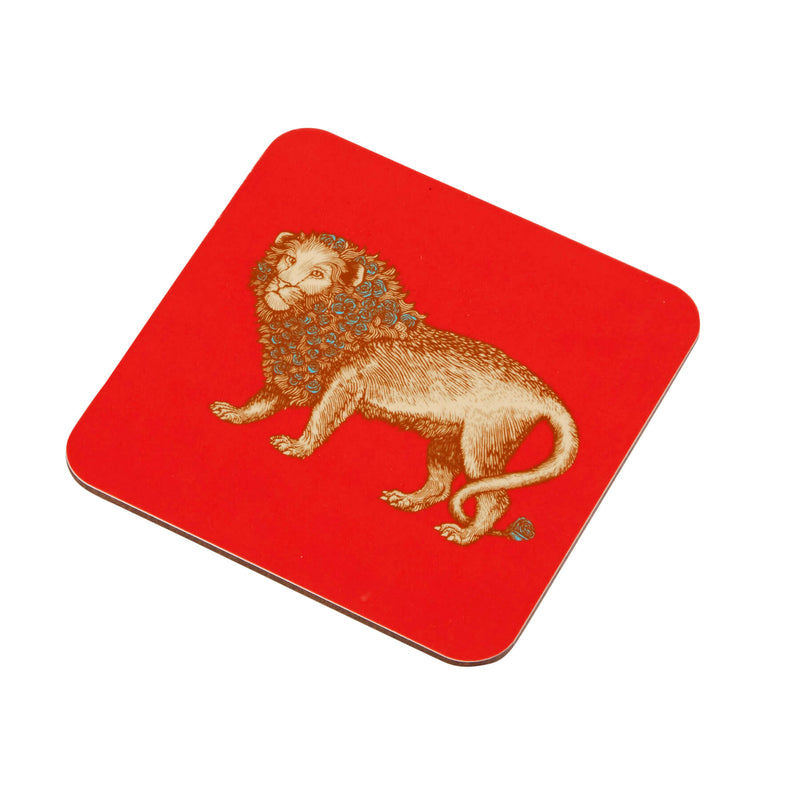 Animal Placemat and Coaster Collection Red Lion Design