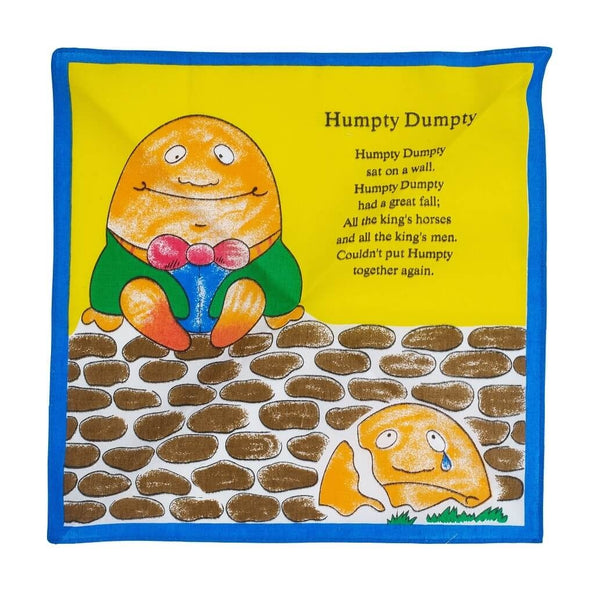 Humpty Dumpty Cotton Children s Handkerchief