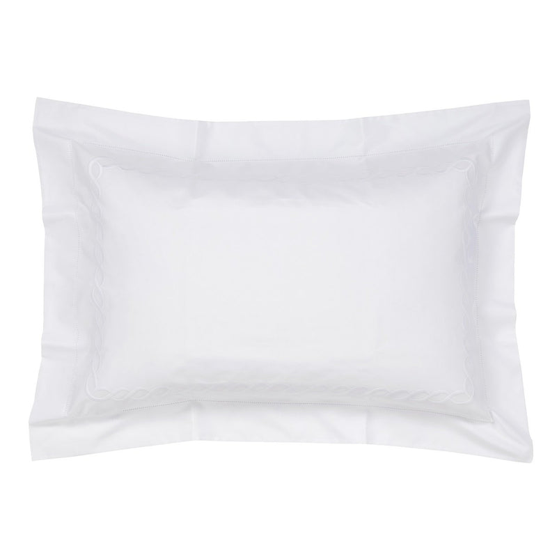 Woods Italian Classic Sorano Superfine white/White Oxford Pillowcase