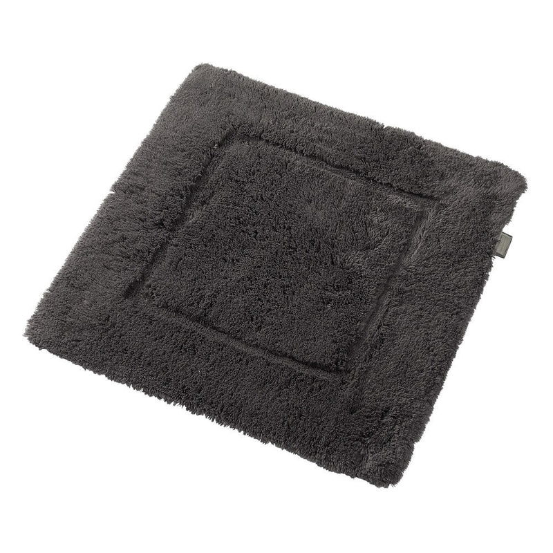Woods Contessa Egyptian Cotton Shower Mat Charcoal