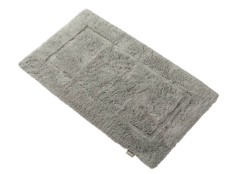 Woods Contessa Egyptian Cotton Standard Bath Mat Silver Grey