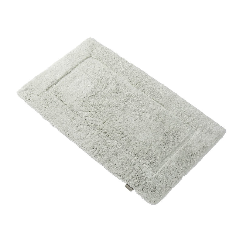 Woods Contessa Egyptian Cotton Standard Bath Mat Oyster Silver