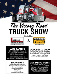 Victory Road Truck Show - Oct 3rd 2020