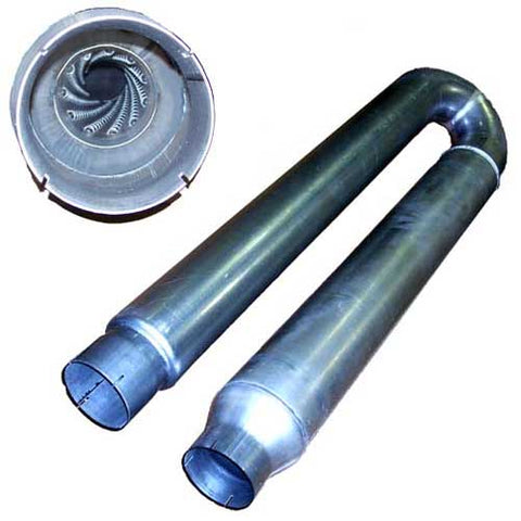 "W900 5"" in 5"" out (Quiet) Muffler"