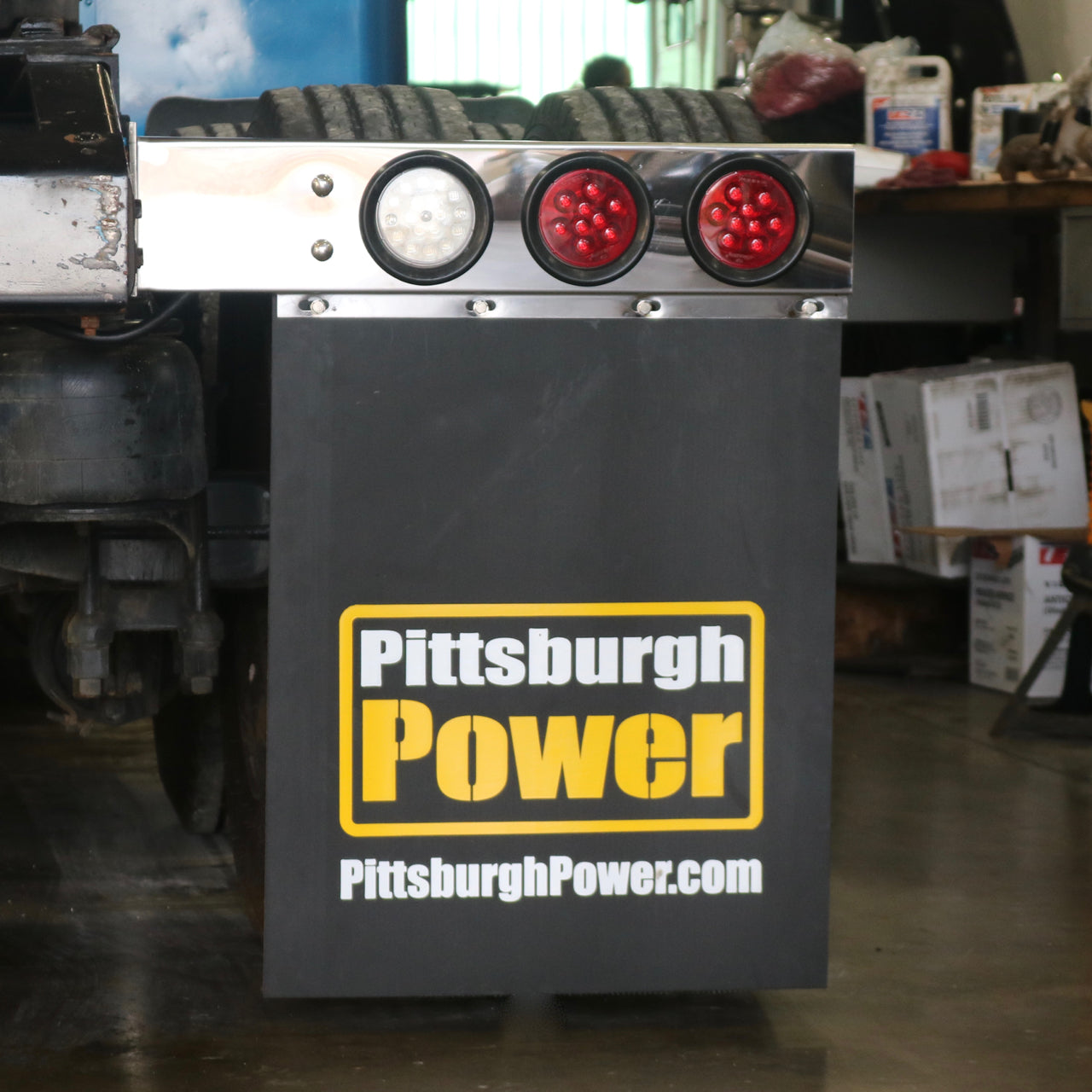 Pittsburgh Power Mud Flaps