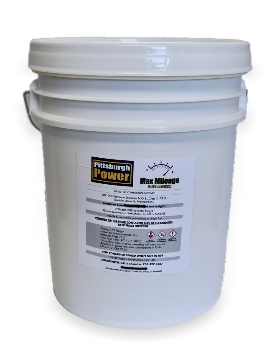Max Mileage - Fuel Borne Catalyst - 5 Gallons