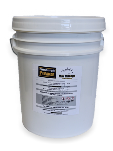 Max Mileage - Fuel Borne Catalyst - 5 Gallons - Pittsburgh Power