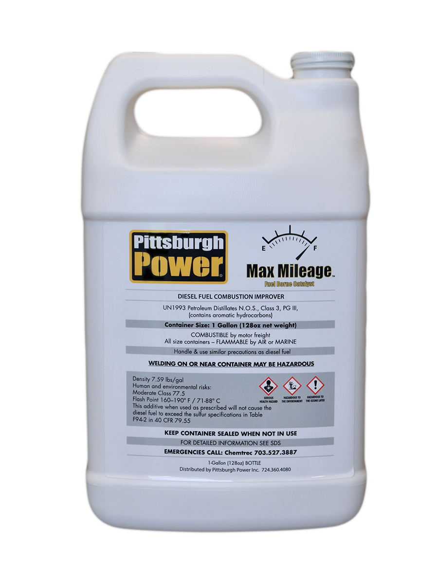 Max Mileage - Fuel Borne Catalyst - 1 Gallon