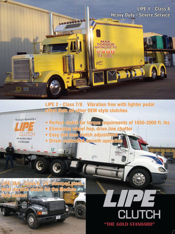 Lipe Clutch 2250 ft/lbs Please Call To Order!