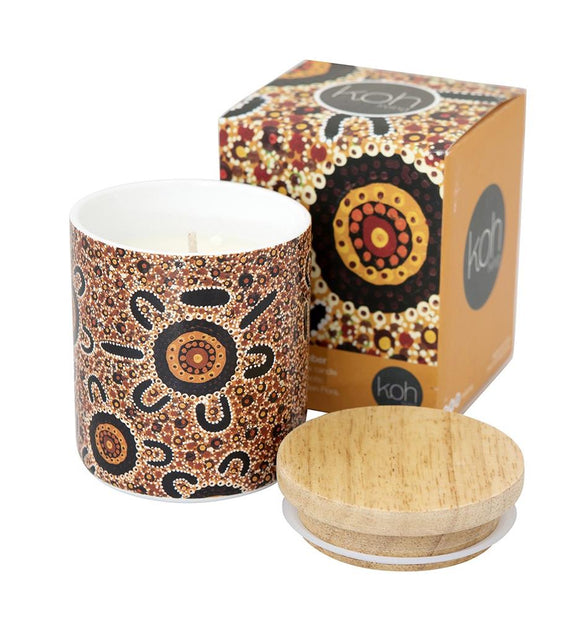 Canister Bush Candle S'Wood & Amber