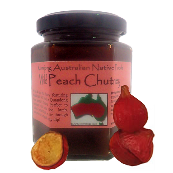 Spicy Wild Peach Chutney 200g
