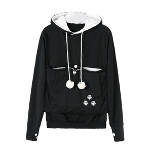 Cute Cat Holder Hoodie