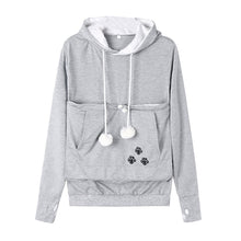 Load image into Gallery viewer, Cute Cat Holder Hoodie