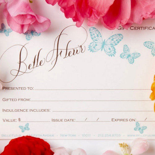 Gift Certificates Collection