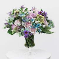 Pastel garden bouquet example