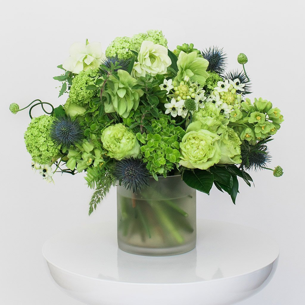 Citrus garden bouquet example