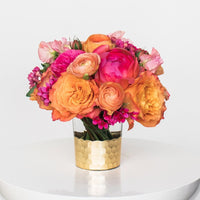 Sunset classic bouquet example