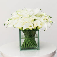Pure modern bouquet example
