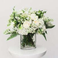 Pure garden bouquet example