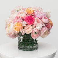 Pastel classic bouquet example