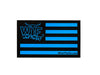 Blue Flag WTF Logo Decal 5""