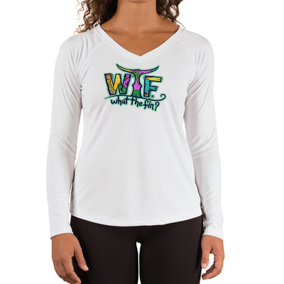 Bone Hook Ladies V-Neck