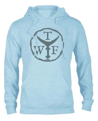 Trade Stamp Hoodie (Ice Blue)