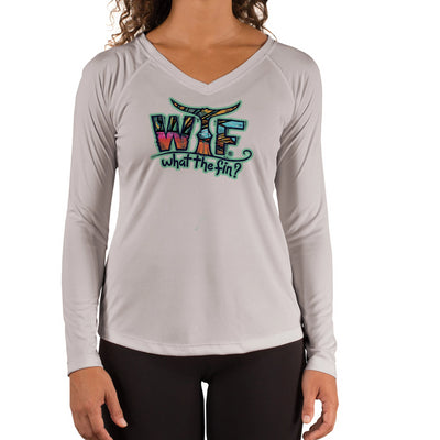 Roosterfish OI Ladies V-Neck Performance