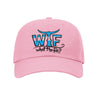 Sea Stripe Emb. Daddio Soft Hat Pink