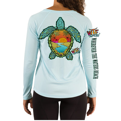 Turtle OI Ladies V-Neck Performance