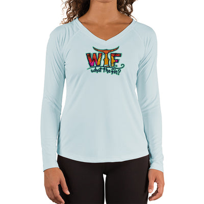 Turtle OI Ladies V-Neck Performance (Made to Order)