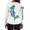 Tarpon OI Ladies V-Neck Performance (Made to Order)