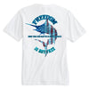 WTF Freedom USA Marlin Tee Shirt