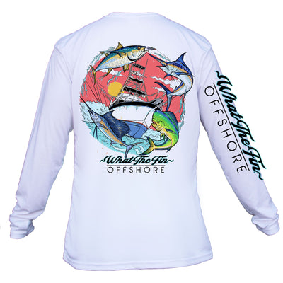 Offshore 4 Fish Slam Unisex Performance (Made to Order)