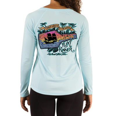 Rum Runner Ladies V-Neck Performance