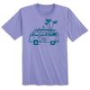 Beach Van Ladies' Tee (Lavender)