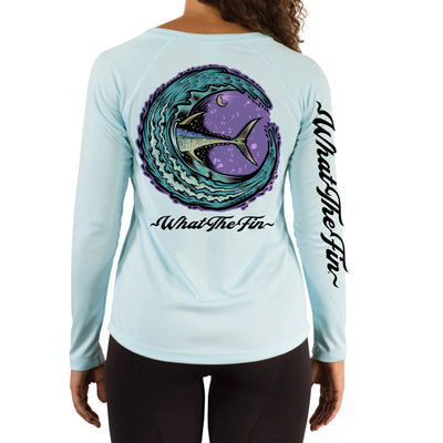 Tuna Moon NV Ladies V-Neck