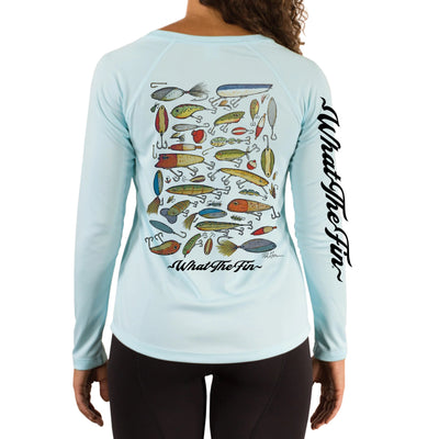 Lures Ladies V-Neck Performance