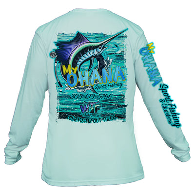 WTF Captains Collection / My Ohana Unisex Performance  (Made to Order)
