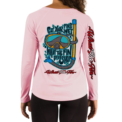 Wet Fins Ladies V-Neck
