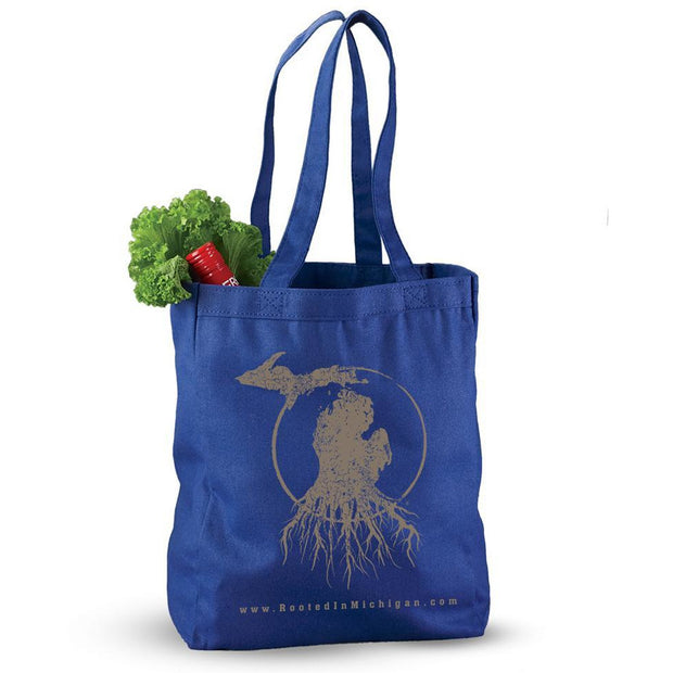 MI Roots - Reusable Canvas Tote
