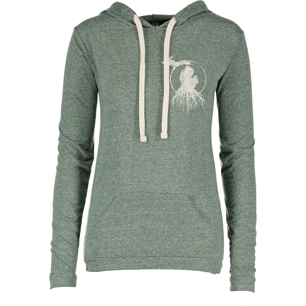 MI Roots - Ladies' Lightweight Tee Hoody