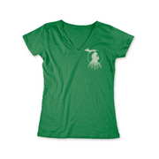 MI Roots - Ladies' V-Neck